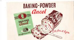 -  BUVARD  BAKING-POWDER, Ancel - 734 - Cake & Candy