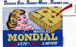 -  BUVARD  Matelas MONDIAL - 735 - Textile & Vestimentaire