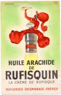 -  BUVARD  Huile Arachide De RUFISQUIN  - 737 - Produits Ménagers