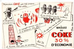 -  BUVARD  Combustible COKE - 738 - Produits Ménagers