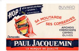 -  BUVARD  Moutarde PAUL JACQUEMIN - 739 - Mostaza