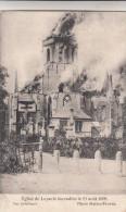 Leysele L´Eglise De Leysele Incendiée Le 21 Août 1908, Brand In Kerk Leisele, Brandweer (pk14047) - Alveringem