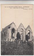 Lo, Loo, La Grande Guerre 1914-17 En Belgique, Etat Actuel De L'eglise (pk14050) - Lo-Reninge