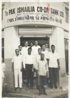 INDIA / Pakistan AGA KHAN  PAK ISMAILIA BANK AGA KHANIS BANK Rare Old Picture Karachi - India