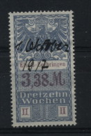 TIMBRES FISCAUX / SOCIO POSTAUX / ALSACE LORRAINE / N° 46 / 13 SEMAINES - Revenue Stamps