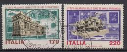 ITALIË - Michel - 1979 - Nr 1636/37 - Gest/Obl/Us - 1946-.. République
