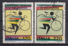 ITALIË - Michel - 1979 - Nr 1639/40 - Gest/Obl/Us - 1946-.. République