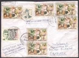 International Women´s Day, Flags, Postal History Cover From PAKISTAN 2009