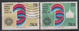 ITALIË - Michel - 1979 - Nr 1665/66 - Gest/Obl/Us - 1946-.. République