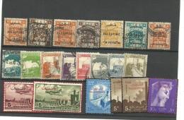 Palestina. Conjunto De 21 Sellos - Palestina