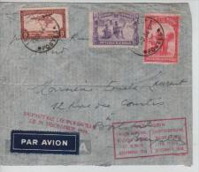 TPA 12-TP173-176 s/L.Avion Raid Rubin d�cembre 1934 c.L�opoldville 25/12/34 v.Boistfort PR1044