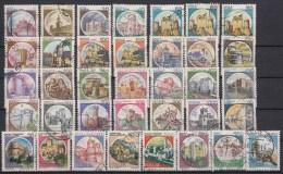 ITALIË - Michel - 1980/94 - SELECTIE 1 (Tanding/Dentélure Nr 1705 A/C/II+ 1708 A/C) - Gest/Obl/Us - 1946-.. République