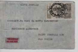 TP 274 s/CP Avion de St.Idesbald r�utilis�e la CP sert de publicit� pour vendre encre papier timbres PR1045