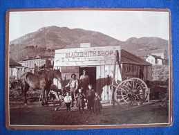 Blacksmith Shop, Silver City, Utah (1890 Reprint) - Autres