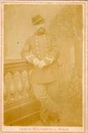Grande Photographie Monge - Soldat En Pied     - Photo Sur Support Carton (PH 224) - Personnes Anonymes