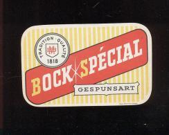 Etiquette De Bière   -  Bock Spécial  -  BM  à  Gespunsart  (08) - Bière