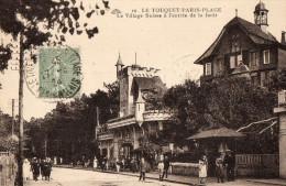 LE TOUQUET - PARIS PLAGE - Le Village Suisse à L'entrée De La Forêt - Le Touquet