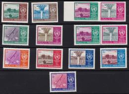 Afganistan 1962 - Mi# Satz 764 Bis 774 A + B (gez. Und Ungezähnt) Alle ** - Afghanistan
