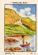 IMAGE FLAN PAPILLON BLEU Serie 73 SUR LE LAC DU BOURGET (LOT 09) - Otros