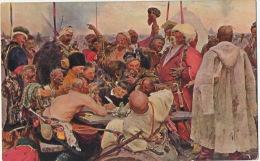 The Zaporogues Cossacks Cosaques By I.E. Repine No 364 Lapina - Ukraine