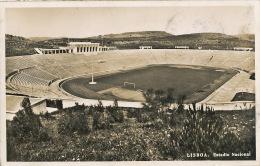 Lisboa Estadio Nacional Stade Stadium Foot Ball Used Lisboa 1952 - Lisboa