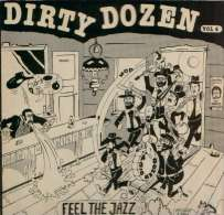 * LP *  DIRTY DOZEN - FEEL THE JAZZ Vol.4 (Dutch Only EX-!!!) - Jazz