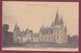 58 - 290814 - POUILLY - Le Château Du Nozet - CHOCOLATERIE D'AIGUEBELLE - Pouilly Sur Loire