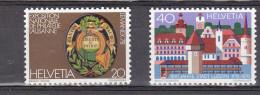 Suisse N° 1046-1047** - Switzerland
