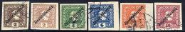 AUSTRIA 1919 Deutschösterreich Newspaper Stamps Used - 1918-1945 1st Republic