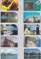 Poland, 0469, Szczecin.    Card No. 9 On Scan. - Pologne