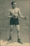 BOXE - Ch. JACKON ?? Jeune Boxeur De Pied En Position - Boxe