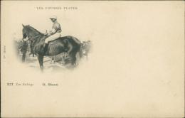 HIPPISME - Les Courses Plates - Les Jockeys G. STERN 1ère Série ( Course De Chevaux) - Hippisme