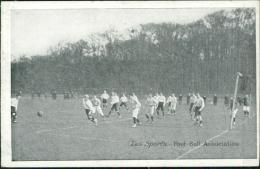 FOOTBALL, Les Sports - Foot-Ball Association (Match De Foot Sur Terrain Extérieur) - Football