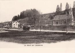 CPM Vers 1908 Entre Le Petit Mont Et Coppoz (Le Mont Sur Lausanne) - Un Tramway, Tram (A79) - VD Vaud