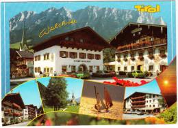 Waichsee: BMW '02, FORD TURNIER, VOLVO 360 GLT, OPEL KADETT-C, VW PASSAT - Gemeindeamt -Tirol- (Österreich / Austria) - Toerisme