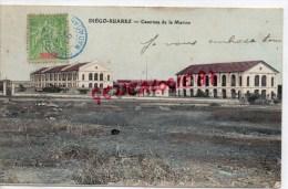 MADAGASCAR - DIEGO SUAREZ -  CASERNES DE LA MARINE -1908 - Madagascar