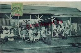 MADAGASCAR - DIEGO SUAREZ -  LE MARCHE D´ ANTSIRANE -1908 - Madagascar