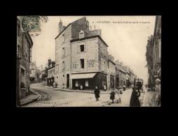 35 - FOUGERES - Rue De La Forêt Et Rue De La Caserne - 46 - Fougeres