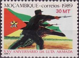 Mozambique - 1989 - XXV Anivers�rio da Luta Armada / National Liberation War, 25th Anniversary - MNH / ( ** )