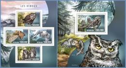 tg14409ab Togo 2014 Owls 2 s/s