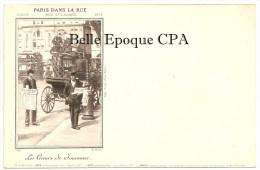 75 - PARIS dans la RUE - S�rie D - COMPL�TE avec 6 CPA - chaque Carte tir�e � 3000 exemplaires ++ Voir mes autres S�RIES
