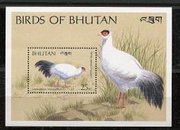 Bouthan ** Bloc N° 280 - Oiseaux Du Bhoutan (IX) - Bhoutan