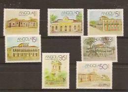 ANGOLA 1990  HISTORIC BUILDUINGS - Angola