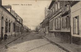 59 Hasnon.  Rue De La Mairie - France