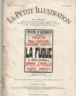 LA FUGUE DE HENRI DUVERNOIS - COMEDIE EN 3 ACTES - LA PETITE ILLUSTRATION 1929 - Books, Magazines, Comics