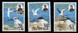 Brunei ** N° 519 à 521 - Oiseaux (IV) - Brunei (1984-...)