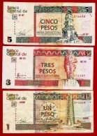 **  CUBA  -  SERIE DE 1 à 20 PESOS CONVERTIBLES ( CUC )  ** - Cuba