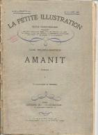 ROMAN AMANIT  DE LUCIE DELARUE-MARDRUS -  EN 3 LIVRETS LA PETITE ILLUSTRATION 1929 - 1900 - 1949