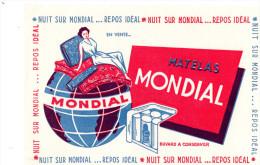 -  BUVARD  Matelas MONDIAL - 743 - Textile & Vestimentaire
