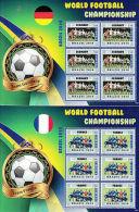 Liberia 2014 MNH World Football Championship Brazil 192v on 32 Sheets Germany